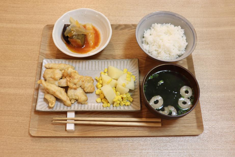 お惣菜セット完成