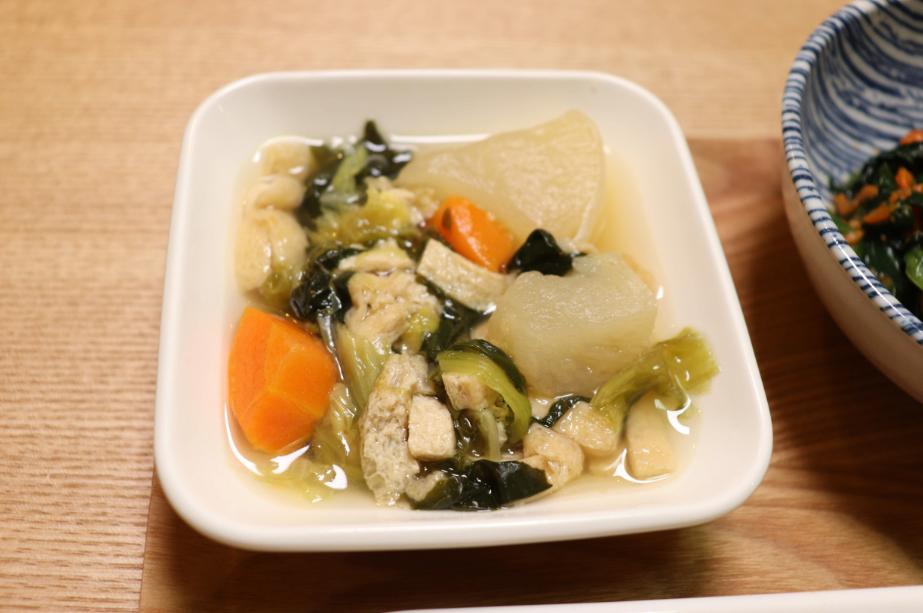 彩り野菜の出汁煮