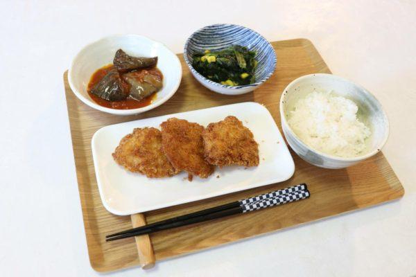 食事宅配サービス「わんまいる」の冷凍お惣菜、島根県産「石見ポークカツ」セットを食べました。