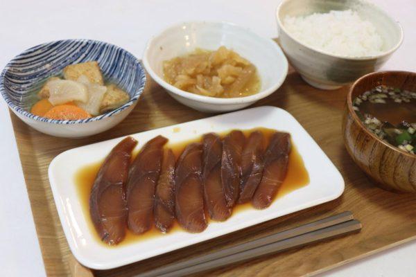 今が旬の宮城県産「はまち」!魚はいつ食べても美味しい☺わんまいるのお食事セット